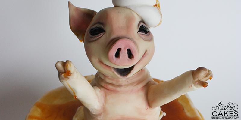 Pig-Pancakes-Cake-tutorial