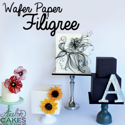 Wafer Paper Filigree Tutorial