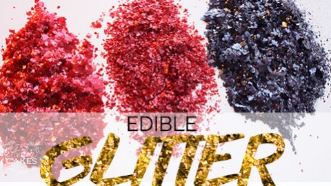How to Make Homemade Edible Glitter