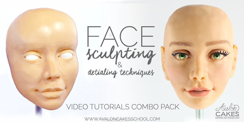 Basic human face sculpting.