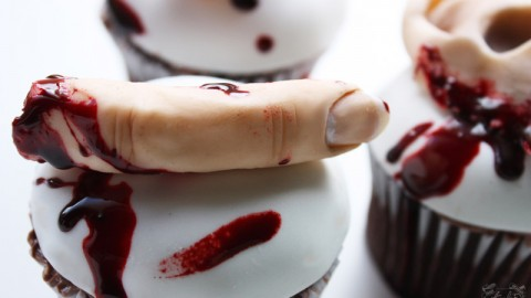 Zombie Buffet Cupcake Tutorial