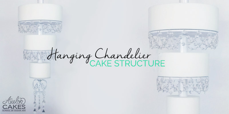 Hanging chandelier cake structure avalon cakes hanging cake chandelier tutorial lrg aloadofball Image collections