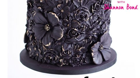 Bas Relief Cake Texture Tutorial with Shannon Bond
