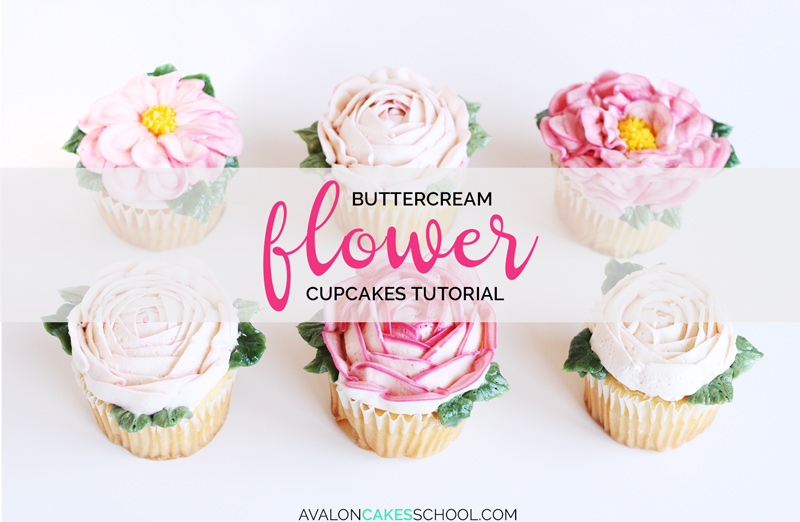 buttercream-flower-cupcakes-easy-how-to-make-video-tutorial-rose-peony-leaf-leaves
