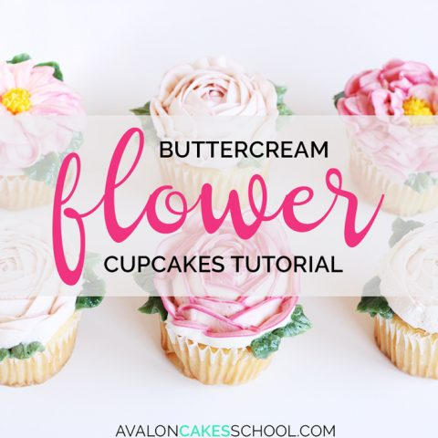 How to Make Buttercream Flower Cupcakes