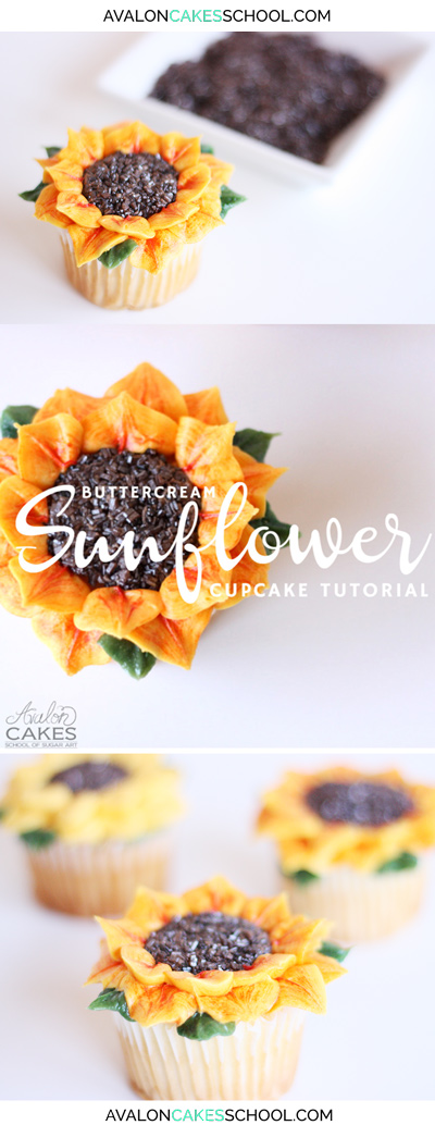 buttercream-sunflower-cupcakes-how-to-make-easy-sprinkles-cupcake-flower-how