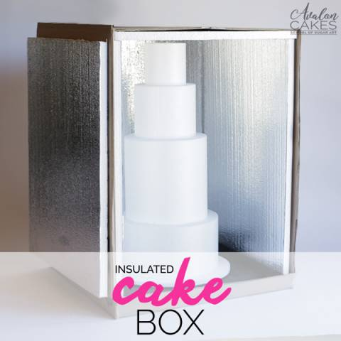 How to Make an Insulated Cake Delivery Box Tutorial