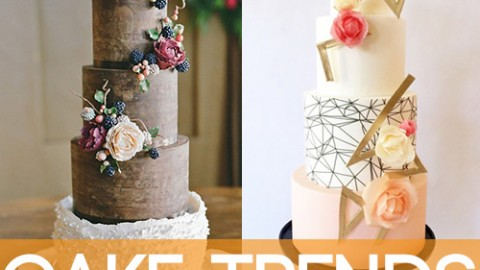 Wedding Cake Trends 2015 Part 1