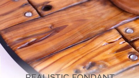 Realistic Woodgrain Texture Tutorial with Fondant Facebook Live Replay
