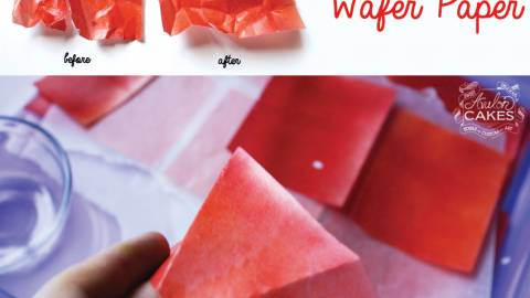 How to Fix Dry and Cracking Wafer Paper
