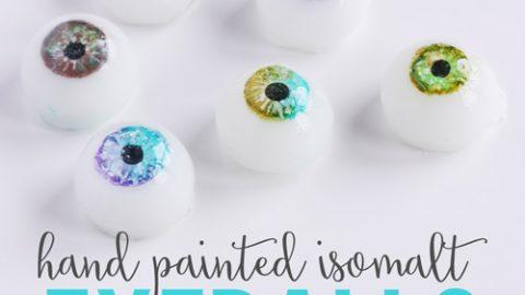 Sugar Isomalt Eye Balls Tutorial Live Replay