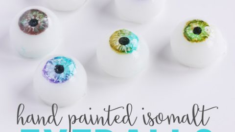 Sugar Isomalt Eye Balls Tutorial Live Replay
