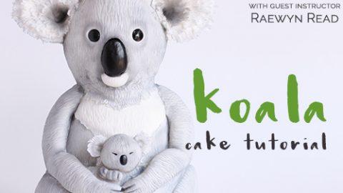 Koala Cake Tutorial with Raewyn Read