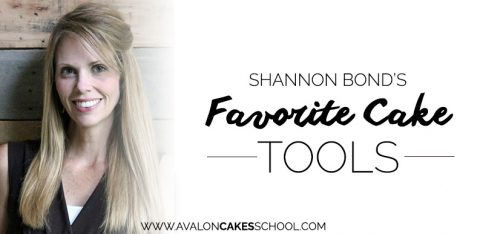 Shannon Bond's Favorite Cake Tools List
