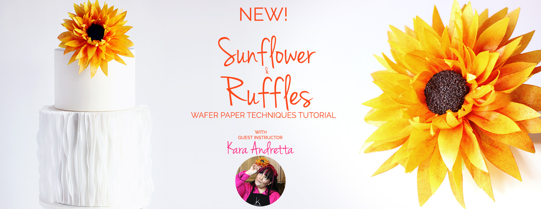 slider-new-wafer-paper-sunflower-wrap-ruffles-tutorial-how-to