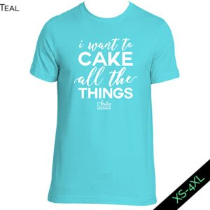 Unisex Classic Tee Cake All the Things
